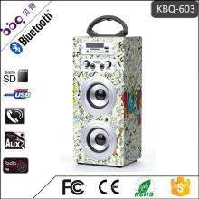 Best selling KBQ-603 10W 1200mAh battery portable karaoke Bluetooth speaker