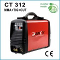 Inverter dc tig mma cut welding machine CT312