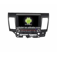 Navegador GPS do carro do andróide 6,0 / Gar / GPS do veículo com mutimedia BT de 3G Wifi para Mitsubishi Lancer Ex