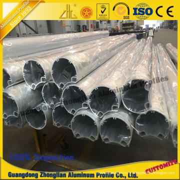 Aluminum Tube Profile Use for Streetlight Industrial Aluminum Profile