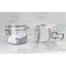 Clear Pet Kilner Jar für Kosmetik Creme (PPC-29)