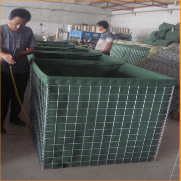 Welded+Gabion+Box+Defensive+Barriers+Wall+With+Geotextile