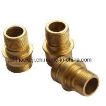 El cobre a presión el conector coaxial de la fundición para el agua