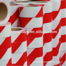 Elegant and sturdy red/white pe barrier tape