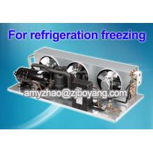 refroidisseur d'huile avec unités de condensation réfrigérantes R404a