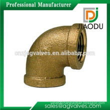 Economic Crazy Selling brass casting 90 degree aluminum elbow