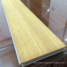 PVC Parquet and Engineered Wood Flooring with Top Wooden Layer