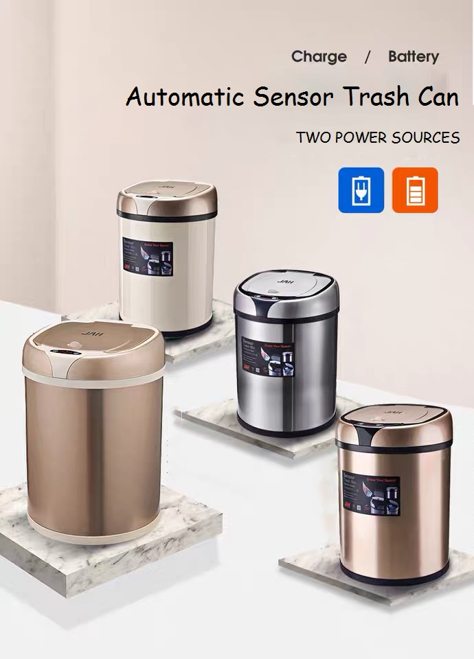 Re-chargeable Sensor Trash Bin