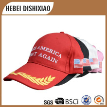 100% Cotton Embroidery And Printing Election Hat Make America Agreat Again Caps Hat Promotion