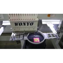 Recepción de la máquina de bordado de la máquina del bordado de la computadora de la cabeza 12/15 de los cabritos de la cabeza simple Wy1201CS / Wy1501CS