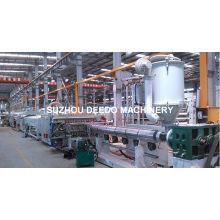 Chaîne de production de feuille de marbre en plastique de PVC