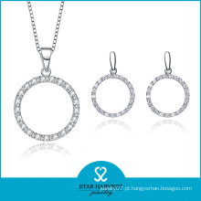 Noivado e casamento moda AAA Cubic Zirconia Jewelry Set (J-0149)