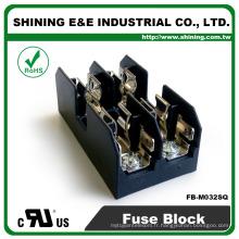 FB-M032SQ Equal To Busmann 600V 2 Pole Din Rail Boîte à fusibles 30 ampères
