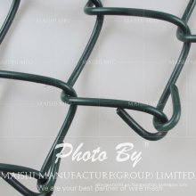 Tejido de enlace de cadena recubierto de PVC