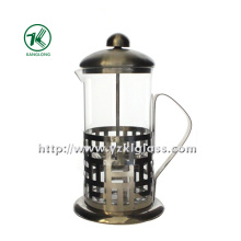 Glass Tea Set with Stainless Steel (11.5*14*22.5)