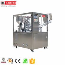 Автоматическая многоцелевая пластичная косметика крем лосьон для вставки мягкие завалка пробки и машина запечатывания