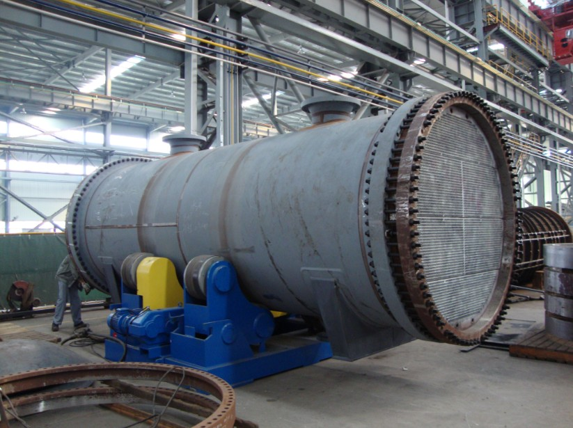 Fixed tube plate heat exchanger