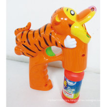 outdoor Summer Music Toy Tiger Bubble Gun Toy