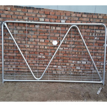 Hot sale zinc coated steel tubular gate for farm with competitive price