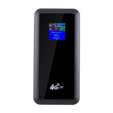 Hotspot wi-fi Cat4 4G com roteador powerbank lte