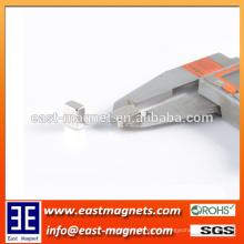 N38 Permanent Block sinterizado Neodymium Magnet / small block nickel coated magnet para la venta