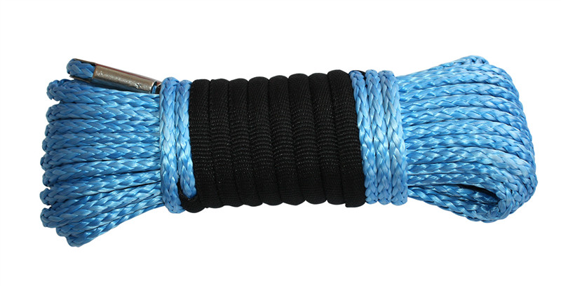 Blue UHMWPE Winch Rope 800px