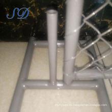 Fabricación de la cerca temporal retractable revestida de los 8x12 pies