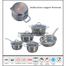 10PCS Impact Copper Bottom Saucepot and Saucepan Set