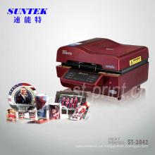 Máquina de impressão da imprensa de transferência térmica de multi-funcional 3D