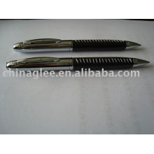 Exclusivo bolígrafos, plumas de cuero.