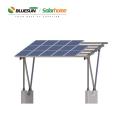 Bluesun solar 2kw en el sistema de paneles solares de cuadrícula 5KW 5000W 5000WP sistema de energía solar en el hogar hogar Nuevo diseño para uso en el hogar