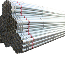 Hot Dip Galvanized Pipes Welded Carbon ERW Steel Pipe and Tubes
