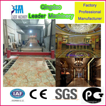 Innenwandpaneele Produktionsmaschine