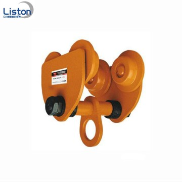 Hand Pulling GCL Plain Gear Beam Trolley