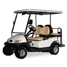 Chariot de golf électrique 2 places avec sièges arrière 2 places