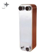 Intercambiador de calor de placas soldadas compacto agua-agua 304 / 316L