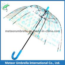 Parapluie à bulles pour enfants Dome / parapluie transparent en PVC transparent en plastique