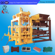 Fully Automatic Habiterra Interlock Hydraulic Compressed Brick Making Machine