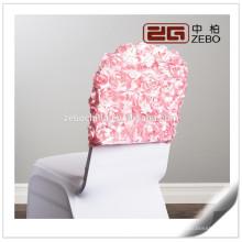 El más nuevo diseño de la boda de colores usados Satin Rosette sillas Sashes