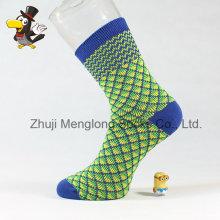 Lady Fashion Classic Diamant Muster Baumwolle Socken sehr beliebt auf dem Markt