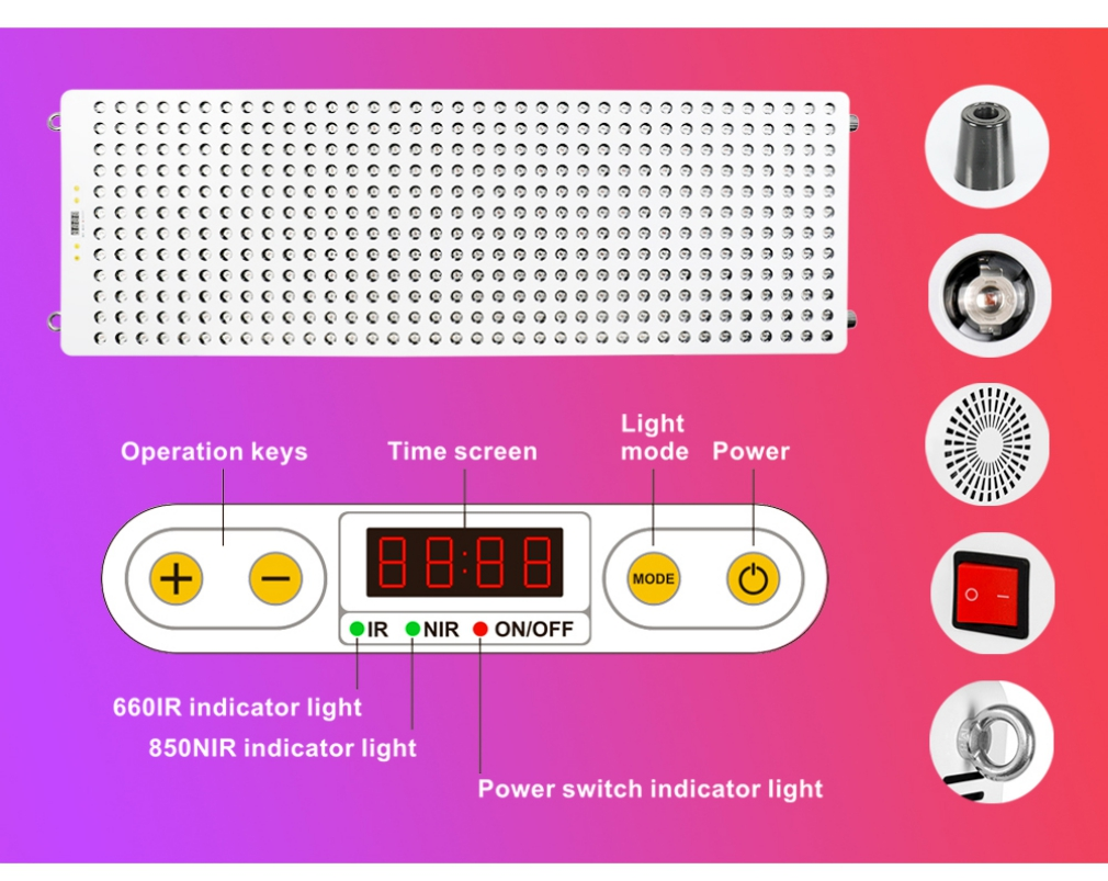 Red Light Therapy Collagen Device