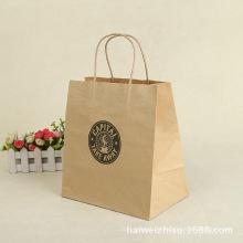 Kundenspezifische Tasche Kraftpapier