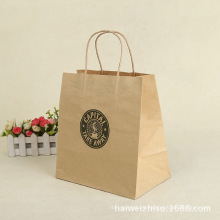 Bolsa de papel kraft personalizado