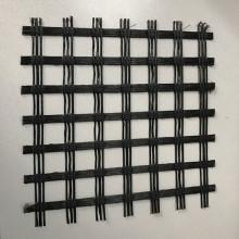 Géogrille uniaxiale en polyester pour mur de soutènement
