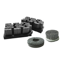 Personalize Wire Grinding Brush Head Grinding Wheel Brushed Tools Square teeth