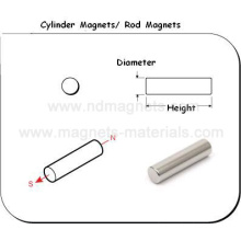 Cylinder NdFeB Magnets with Engineer Drawing