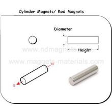 Магниты цилиндра NdFeB с чертежом инженера