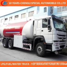 6X4 LPG Filling Truck 30cbm LPG Bobtail Truck for Sale