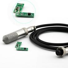 High precision electronic temperature humidity control board PCB sensor module with sensor probe detector