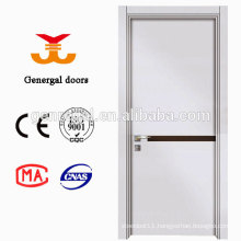 Modern melamine wooden door with solid core